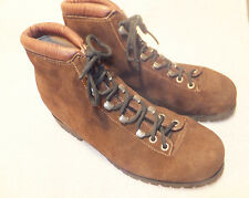 Alps By Fabiano Brown Suede Hiking Boots Womens Size 8 N Quite Good
