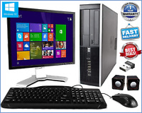 CHEAP FULL SET DELL/HP/ DUAL CORE DESKTOP TOWER PC&TFT COMPUTER SYSTEM WIN