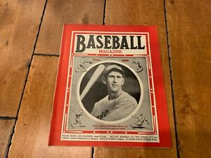 1936 BASEBALL MAGAZINE DECEMBER LUKE APPLING ON COVER