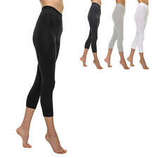 Only Damen Leggings Damenleggings Skinny Basic Stretch 3/4 Hose Damenhose Hose