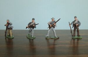 HTF Civil War soldiers swoppet type 54mm collectibles, lot 3