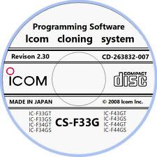 Icom CS-F33G Version 2.30 for F33G & F43G Series Radios