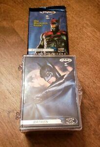 BATMAN FOREVER FLEER-ULTRA (1995) COMPLETE BASE CARD SET WITH WRAPPER