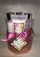 Pure Passion Fine Soaps and Lotion ~ 4 Piece Bath Gift Set  Pink Rose .