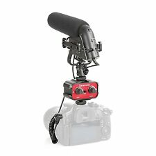 Movo DSLR Video Audio Kit w/ Pro Metal Shotgun Condensor Microphone & 2-CH Mixer