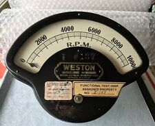 WESTON Model 273 Art Deco Industrial Electrical Instrument