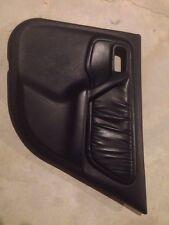 99-02 Infiniti G20 Door Panel Trim Right Rear Black