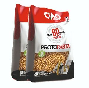 PASTA PROTEICA Ciao Carb ProtoPasta Riso 1000 gr ( 2 X 500 gr )  60% Proteine
