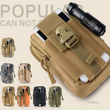 Army Tactical Holster Military Molle Waist Belt Bag Wallet Cell Phone Pouch Case
