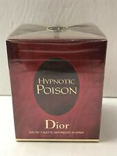 Hypnotic Poison by Christian Dior EDT for Women 3.4 oz- 100 ml NEW IN SEALED BOX
