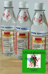 3 Bottles Danncy Clear Mexican Vanilla Extract 12oz Each Fast Shipping ⚡🚚