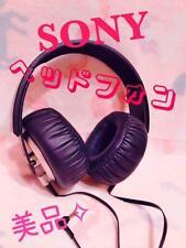 SONY Headphones MDR-XB500 Extra Bass Black Used