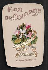 Etiquette Parfum   SUPERBE      Dim    7   X    11  Cm