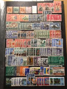 Ceylon / Sri Lanka ein paar doppelte Marken, drei Seiten