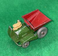 Matchbox Lesney 2 Muir Hill Dumper Gray Wheel Vintage Truck W Driver