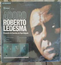"*NEW SEALED* ROBERTO LEDESMA Adoro 12"" 33RPM w/Pic Sleeve Gema LPG 3054"