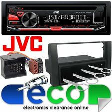 Ford Focus MK2 2004-10 JVC CD MP3 USB Aux Car Radio Stereo Player & Fitting Kit