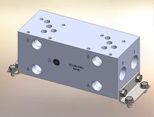 Hydraulic manifold A5P25P //  AD05P025P // BM-ASP05P5-02-1/Z // BAO5GPT02NDUAAAA
