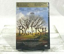 Big Fish (Dvd, 2004) Tim Burton New Sealed