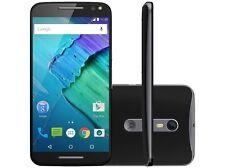 "SIM FREE MOTOROLA X STYLE XT1572 BLACK 32GB SMARTPHONE 4G LTE 5.7"" SCREEN"