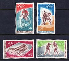 Gabon 1968 Airmail - Olympic Games, Mexico - MNH set - Cat £8.75 - (28)
