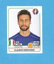 PANINI-EURO 2016-Figurina n.506- MARCHISIO - ITALIA -NEW BLACK