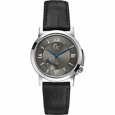 Guess Collection GC Women's SlimClass Leather Swiss Madde Watch - X59010L5S