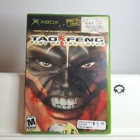 Tao Feng : Fist Of The Lotus ( Original Xbox ) TESTED