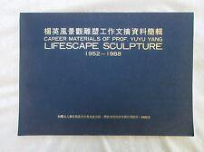 YUYU YANG (aka YANG YING-FENG) TAIWAN SCULPTOR Biographical Articles 1952-1988