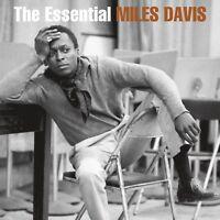 MILES DAVIS - THE ESSENTIAL MILES DAVIS  2 VINYL LP NEU