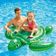 Pool Float Lil' Sea Turtle Ride-On 59 x 50 Lake Toy Inflatable NEW in BOX