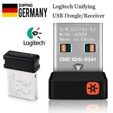 Para nano Logitech unificador receptor receptor dongle para el ratón teclado 2.4 GH