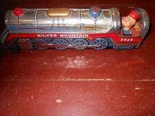 Lokomotive aus Blech,Spielzeug Lokomotive,  alt