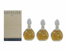 Creation 3 x 4 ml Eau de Toilette Miniature for Women (Box Dirty) by Ted Lapidus