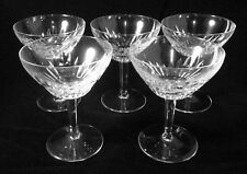 Glassware Set of 5 Wine Glasses Margarita  Daiquiri Frozen Martini  5 oz