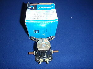 1960 Plymouth Valiant 12 V Solenoid w curved mounting bracket