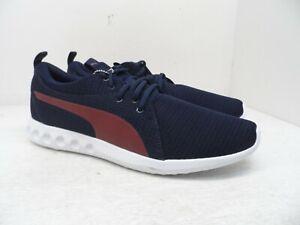 PUMA Men's Carson 2 New Core Running Shoes Peacoat/Pomegranate Size 13M