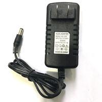 US Power Supply AC 100-240V To DC 12V 3A Adapter For LED Strip Light CCTV Camera