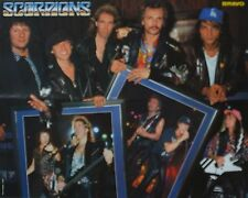 Scorpions-POSTER a2 (XL - 42 x 55 cm) - Klaus mia skinning fan Raccolta Nuovo