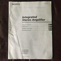 Original User Manual for Sony TA-FE530R TA-FE330R TA-FE230 Amplifier Amp