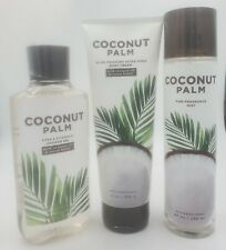 Bath & Body Works Coconut Palm Collection