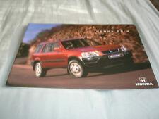 Honda CRV brochure Sep 1998