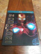 Iron man 2 lenticular steelbook  limited #02138 (blu-ray)