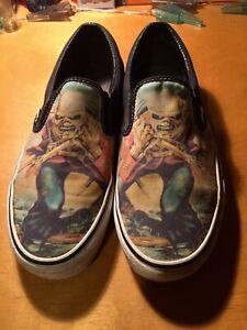 Iron Maiden Vans Shoes The Trooper Men's Size 10