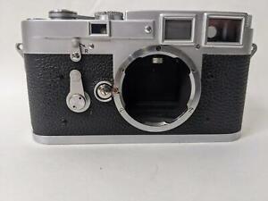1955 Leica M3 Rangefinder Double Stroke Camera SN # 753088  CLA by YYe Camera