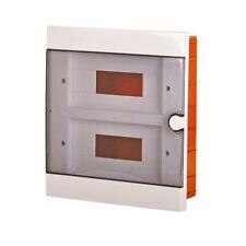 Inwall Unit Insulated Enclosure Fuse Box Distribution Board 24 Module Consumer