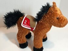 Seabiscuit Race Horse Plush Animal 2003 Breyer Animal Creations Rare Collectible