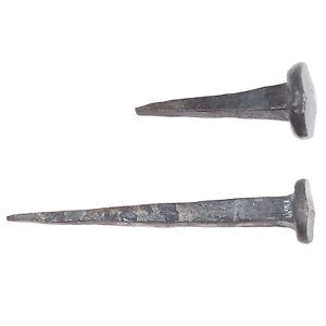 Schmiedeeisen Nägel Eisennägel Mittelalter Nagel Industrial Schmiedenägel Stift