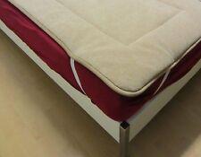 Unterbett doppelt Alpaca Wolle Matratzenauflage Bettauflage  530g/m² 90x200