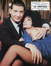 MARIE LAFORET PATRICK SEBASTIEN LE PACTOLE 1985 J-P MOCKY PHOTO D'EXPLOITATION